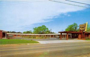 Holiday Terrace Motel Valdosta Georgia postcard