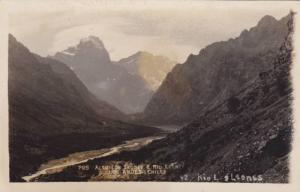 RP, Alto Los Leones Y Rio Leones, Los Andes, Chile, 1910-1930s