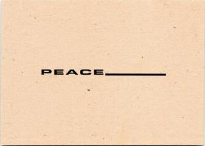 Peace_____________  - ISDA & Co. advertisement