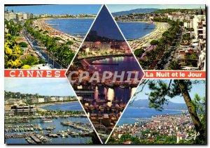 Modern Postcard The Cote d'Azur Cannes L Am the Croisette and Palaces Croiset...
