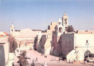 Israel Old Vintage Antique Post Card Basilica of the Nativity Unused