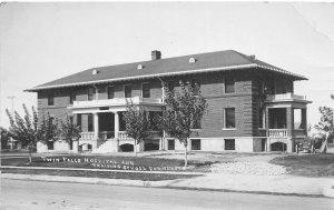 H9/ Twin Falls Idaho RPPC Postcard 1914 Hospital School for Nurses