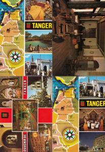 Morocco Tanger Fashion Markets Hotel 4x Postcard s