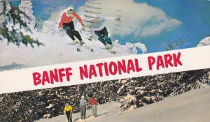 Skiing,  Banff National Park,  Banff,  Alberta,  Canada,  PU_1965