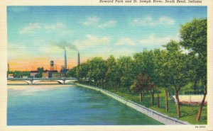 USA Indiana Indianapolis Notre Dame and more Postcard Lot of 10  01.19