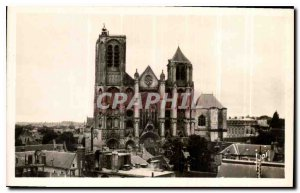 Old Postcard expensive Bourges La Cathedrale