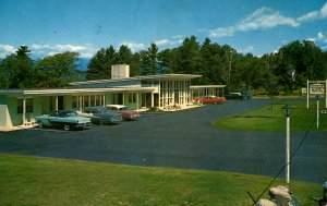 North Conway, New Hampshire - The Cross Country Motel - in 1975