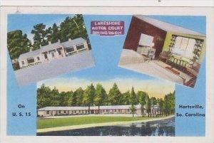 South Carolina Hartsville Lakeshore Motor Court And Dining Room