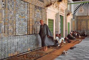Tunisia Kairouan Mosquee Sidi Shabi Moschee Sidi Sahbi