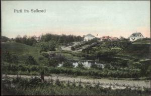 Partia Fra Sollerod Denmark c1910 Postcard