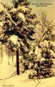 VT - After First Snow Storm
