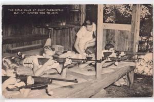 Rifle Club at Camp Passumpsic, Ely VT
