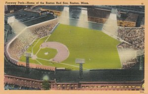 BOSTON, Massachusetts , 1930-40s ; Fenway Park Baseball Stadium