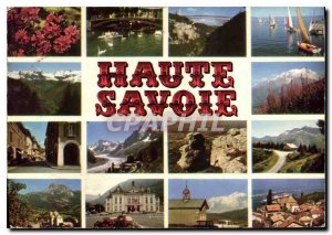Postcard Modern Walk in the department of Haute Savoie Annecy rhododendrons B...