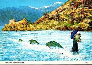 Ireland Humour The Loch Ness Monster 1967