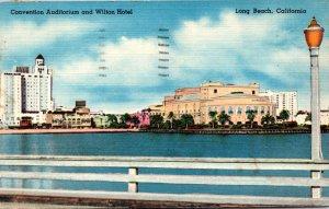 California Long Beach Convention Auditorium and Wilton Hotel 1957