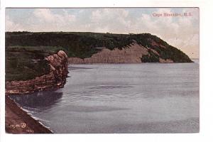 Cape Blomidon, Nova Scotia, Dominion Atlantic Railway on Back