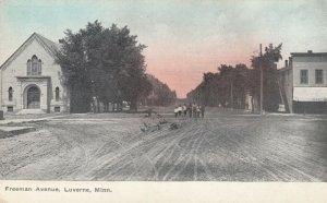 LUVERNE , Minnesota, 1900-10s , Freeman Avenue