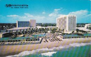 Florida Miami Beach Bal Harbour The Americana Hotel 1961