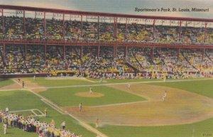 ST LOUIS , Missouri , 1946 ; Sportsman Park Baseball Stadium