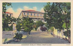 Government House, St. Thomas, Virgin Islands, 1930-1940s