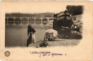 CPA  Agen - Pont Canal  (638761)