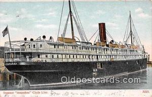 Steamer Arapahoe Clyde Line Ship Postcard Post Card Clyde Line Postcard Post ...