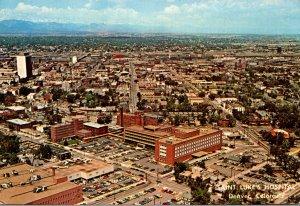 Colorado Denver Aerial View Saint Luke's Hospital