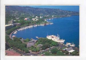 Papeete Yacht Harbor, Tahiti, 60-70s