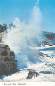 USA Spectacular Surf, Ocean Drive, Acadia National Park Maine