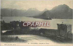 Postcard Old Chapel Talloires Toron