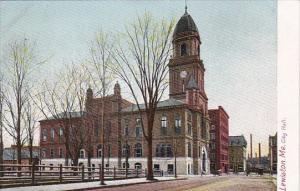 Maine Lewiston City Hall