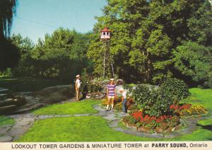 PARRY SOUND , Ont , Canada , 50-70s ; Lookout Tower Gardens