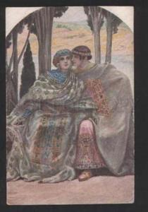 055494 Byzantine Idyll Lover by SOLOMKO old Russia ART NOUVEAU