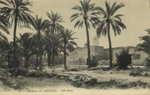 tunisia, CHENINI, The Mosque, Islam (1910s)