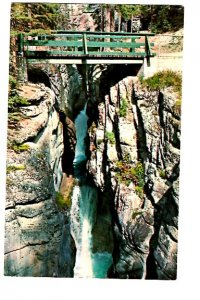 Third Bridge, Maligne Canyon, Jasper Park, Alberta