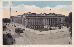 United States Treasury Washington D C 1918