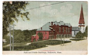 Holbrook, Mass, Park and Public Buildings