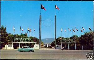 turkey IZMIR, Lozan Gate, Entrance Fair Ground 60s Car