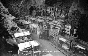 RPPC LA GRUTA Restaurant En Teotihuacan, Mexico c1950s Vintage Postcard