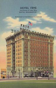 Hotel Frye, In the Heart of the Evergreen Playground, Seattle, Washington, 30...