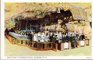Lunch Room in Carlsbad Caverns - Carlsbad N.M.