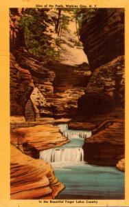 New York Watkins Glen Glen Of The Pools Dexter Press