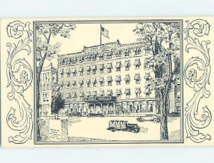 1930's HOTEL SCENE Concord New Hampshire NH H0395