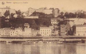 Ferry, La Meuse Et La Citadelle, Namur (Namur), Belgium, 1900-1910s