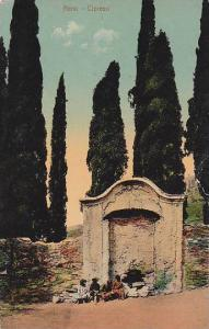 Cipressi, Nervi (Liguria), Italy, 1900-1910s