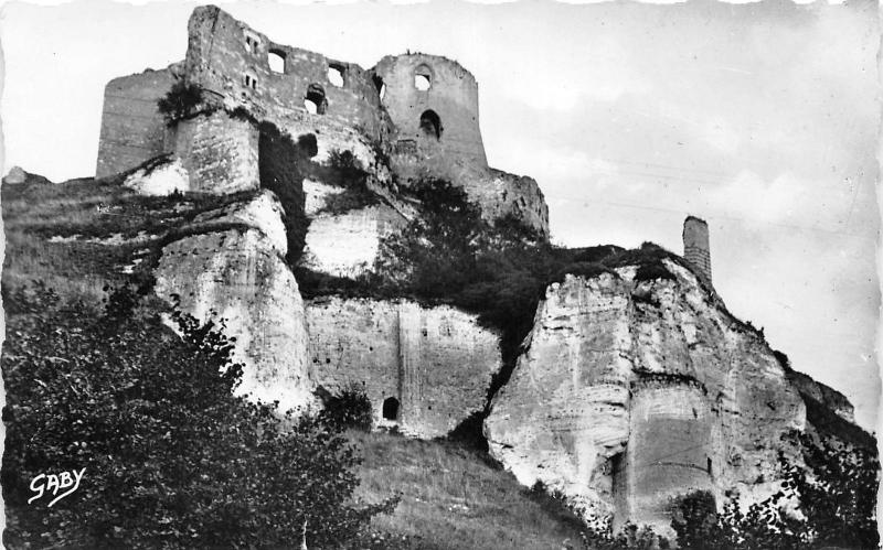 BR5542 Le Petit Andely le chateau Gaillard france / HipPostcard