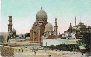 Egypt Caire Cairo tombeaux des mamelouks et citadelle  01.22