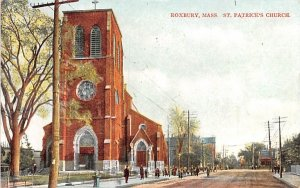 St. Patrick's Church Roxbury, Massachusetts Postcard