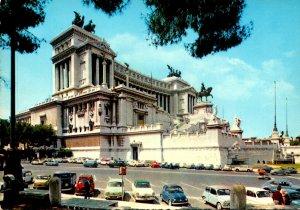 Italy Roma Rome Monument To Vittorio Emanuele II